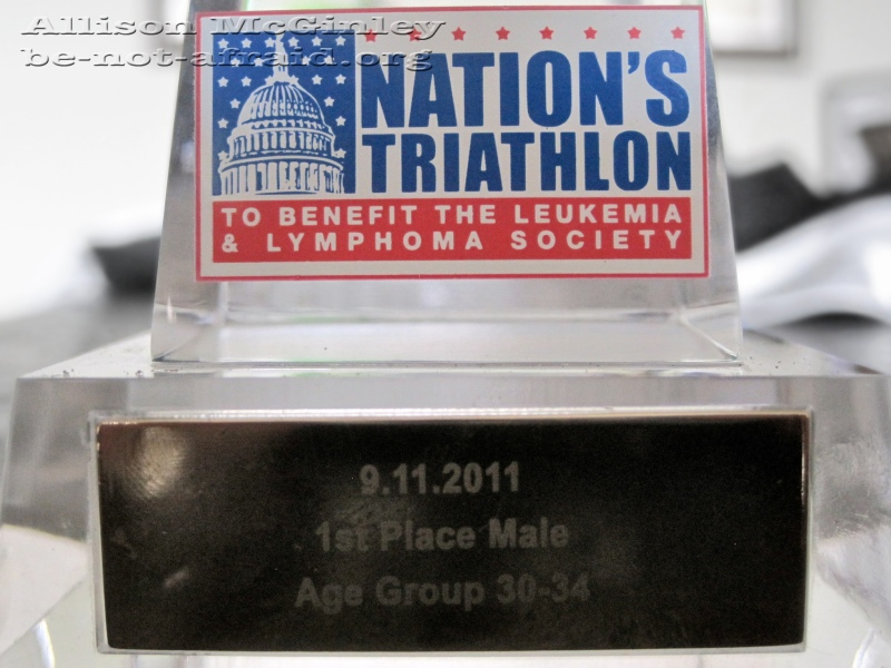 Award, Race, First Place, Leukemia, Lymphoma