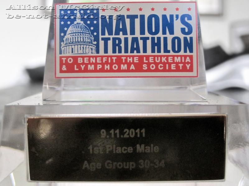 Award, Race, First Place, Leukemia, Lymphoma
