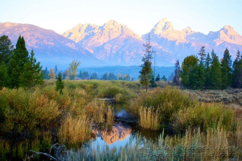 Grand Teton National Park at Dawn