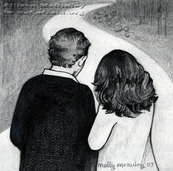 Wedding Program Drawing